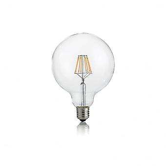Ideal Lux Light Bulb Classic E27 8W Globo D125 Transparent 3000K