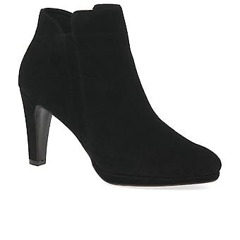 Caprice Camilla Womens Suede Ankle Boots