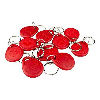 10x 125Khz RFID Smart Tag-Red