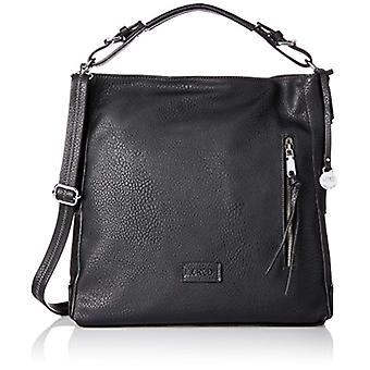 L.Credi Venice Black Women's Shoulder Bag (Black) 37x385x145 cm