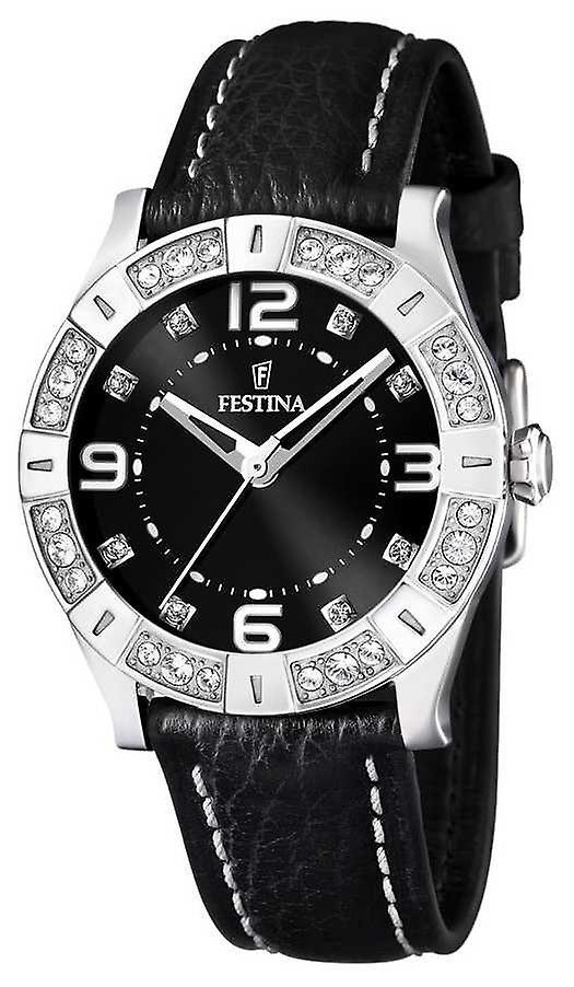 Festina Ladies Black Dial & Strap F16537/2 Watch