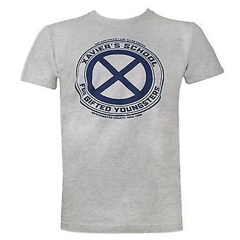 X-Men Xavier ' s koulu miehet ' s harmaa T-paita