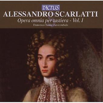 A. Scarlatti - Alessandro Scarlatti: Opera Omnia Per Tastiera, Vol. 1 [CD] USA import