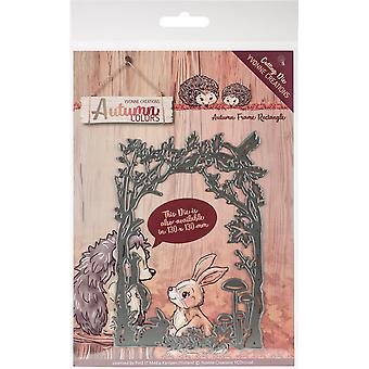 Trouvez-le trading Yvonne Creations Die-Rectangle Frame, Couleurs d'automne