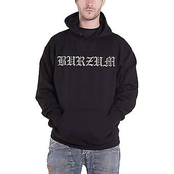 Burzum Hoodie Anthology 2018 Band Logo Official Mens New Black Pullover