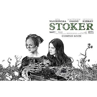 Stoker Poster Double Sided Style A (Quad) (2013) Original Cinema Poster