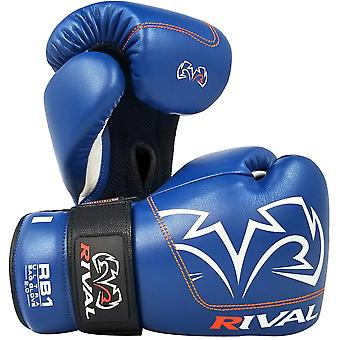 Rival Boxing RB1 2.0 Ultra Hook and Loop Bag Gloves - Blue