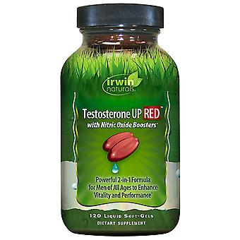 Irwin Naturals Testosterone UP RED with Nitric Oxide Boosters (120 Softgels)