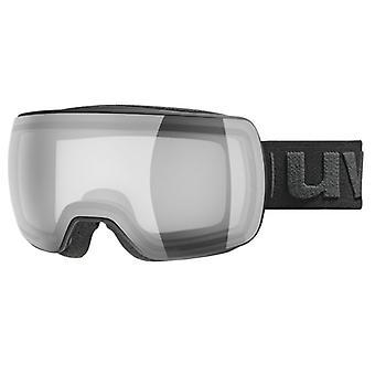 Uvex COMPACT VP X مرآة فضية سوداء