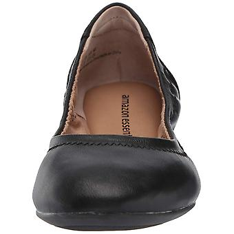 Amazon Essentials Women's Ballet Flat, Black, 10 B US, Black, Boyut 10.0