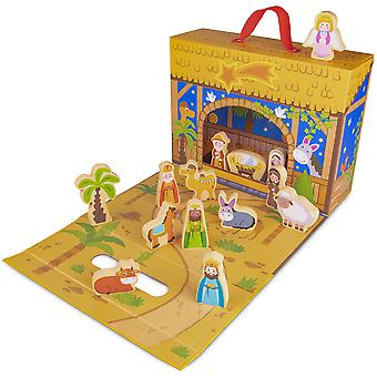My First Noel Nativity Story Box