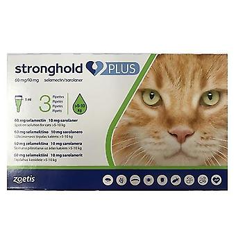 Stronghold Plus for Large Cats 5-10 kg (11-22 lbs) - 3 Pack