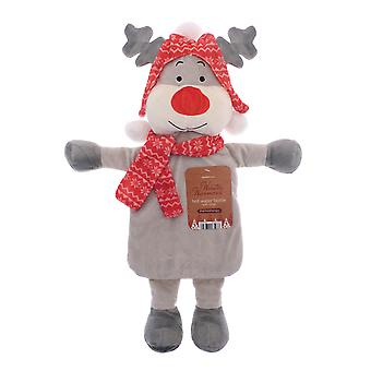 Country Club Winter Warmer Hot Water Bottle, Reindeer