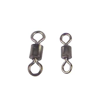 Swimerz Rolling Swivels Black Nickel 50 Pack