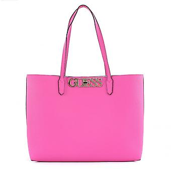 Guess Uptown chique Barcelona Tote Rose handtas