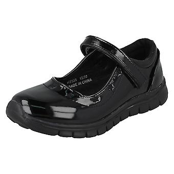Girls Spot On School Shoes H2559