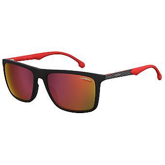 Carrera 8032/S 003/w3 matte svart/röd spegel