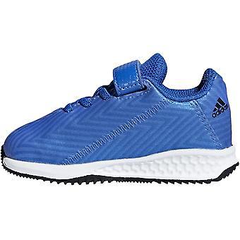 Adidas Performance Boys rapida Turf Nemeziz skosnören krok och slinga utbildare-blå
