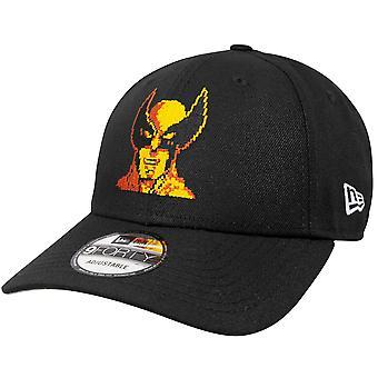 Wolverine Marvel 80th New Era 9Forty Adjustable Hat