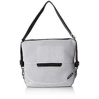 Mandarin duck Shoulder bag Donna Silver (Silver 466)) 15.5x32x36 cm (B x H x T)