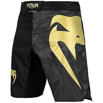 Venum Light 3.0 Fight Shorts Schwarz/Gold