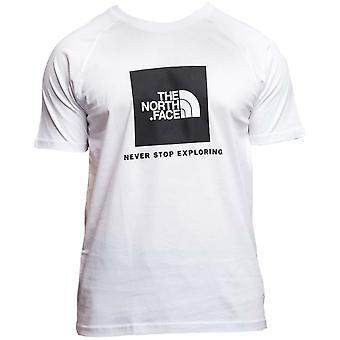 T-shirt da uomo estivo universale North Face Red Box