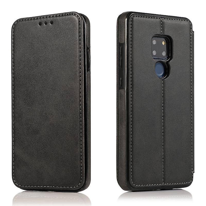 CaseGate phone case case cover for Huawei Mate 20 case cover - magnetic clasp, stand function and card compartment