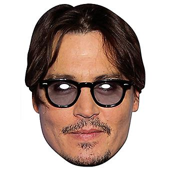 Jonny Depp Celebrity Kort Party Fancy Dress Mask