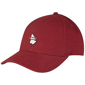 Maroon Cayler & sons Curved Strapback Cap - TRUST