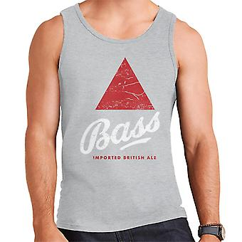 Bass Red Triangle Classic Logo Men's Vest