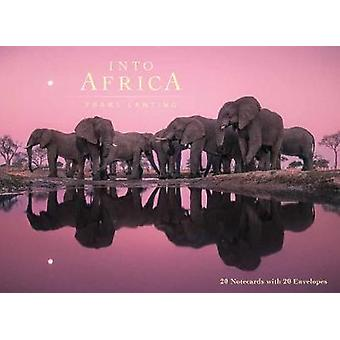 Into Africa Blank Boxed Notecards by By photographer Frans Lanting