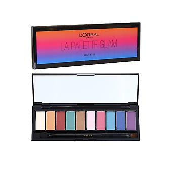 L'Oreal Color Riche La Palette Glam Eyes (Yeux) 7g Symphony of 10 Pop Glam Eyeshadows