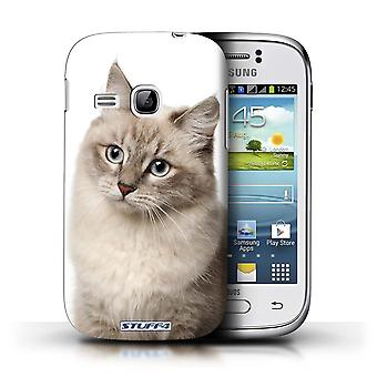 STUFF4 Case/Cover for Samsung Galaxy Young/Siberian/Cat Breeds