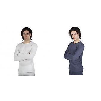 Térmica para hombre ropa interior manga larga camiseta Top