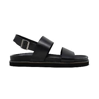Walk london jackson sandals in black leather
