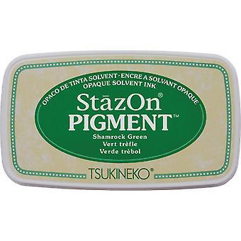 Stazon Pigment Encre Pad-Shamrock Vert