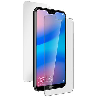 Huawei P20 Lite Full Film Front Tempered Glass + Nillkin Silicone Back Film