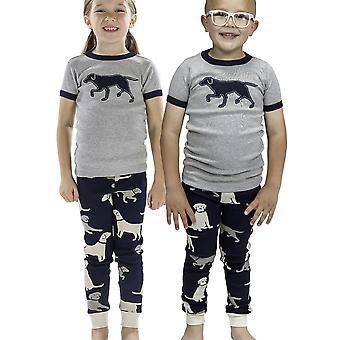 LazyOne Childrens/Kids Unisex Labradors Pyjama Set