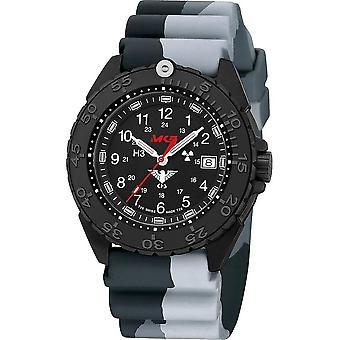 KHS Wristwatch الرجال المنفذ الأسود الصلب CR KHS. ENFBSCR. DC1