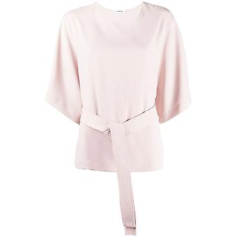 P.a.r.o.s.h. D311221063 Women's Pink Polyester Blouse