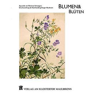 Blumen  BltenAquarelle von Marianne Schneegans by Krger & Reto