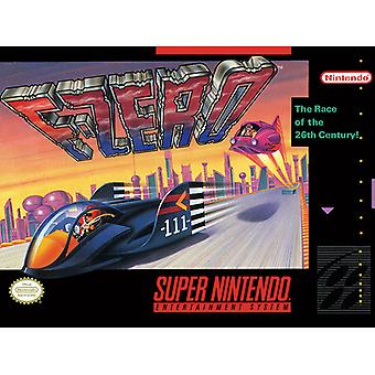 Super Nintendo F-Zero Canvas Levy 30 * 40cm