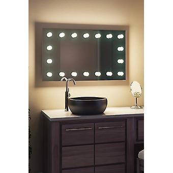 Diamond X Bodenmontage Hollywood Audio Spiegel & Tageslicht LED k413CW