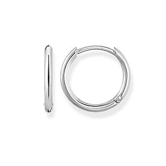 Thomas Sabo Silver Women's Hoop Earrings 925 CR608-001-12