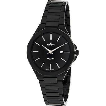 Edox - Relógio de Pulso - Mulheres - 57005 37NM NIG - Golfinho