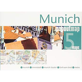 Munich PopOut Map by PopOut Maps - 9781910218655 Book