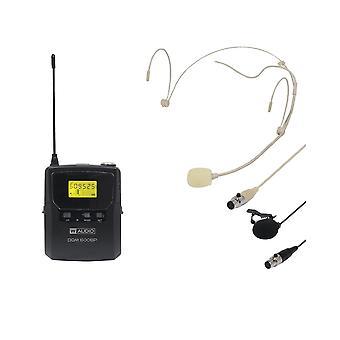 W audio Dqm600bp toevoegen op Beltpack Kit-Ch38