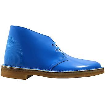 クラークス デザート ブーツ ブルー/コバルト 63712 メン&アポス;s