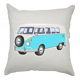 Campervan Cushion Cover 40cm x 40cm Aqua