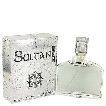 Sultan Eau De Toilette Spray By Jeanne Arthes 3.3 oz Eau De Toilette Spray